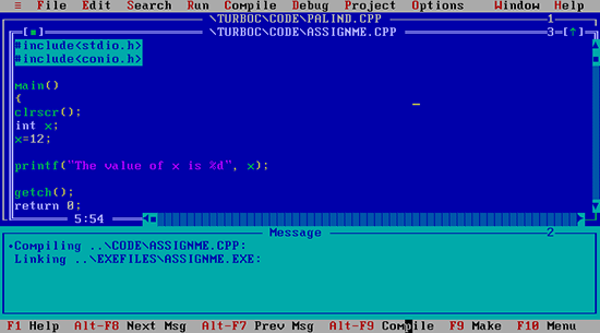 old-programming-ide-turbo-c-plus-plus-3.0