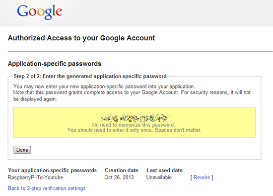 google-account-application-specific-passwords