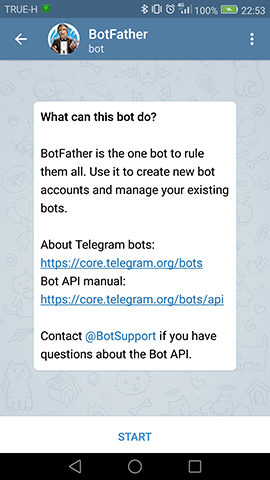 TelegrameBot Allert From ESP 8266