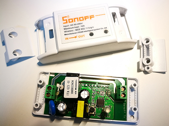 Sonoff WiFi Smart Switch (ESP8266)